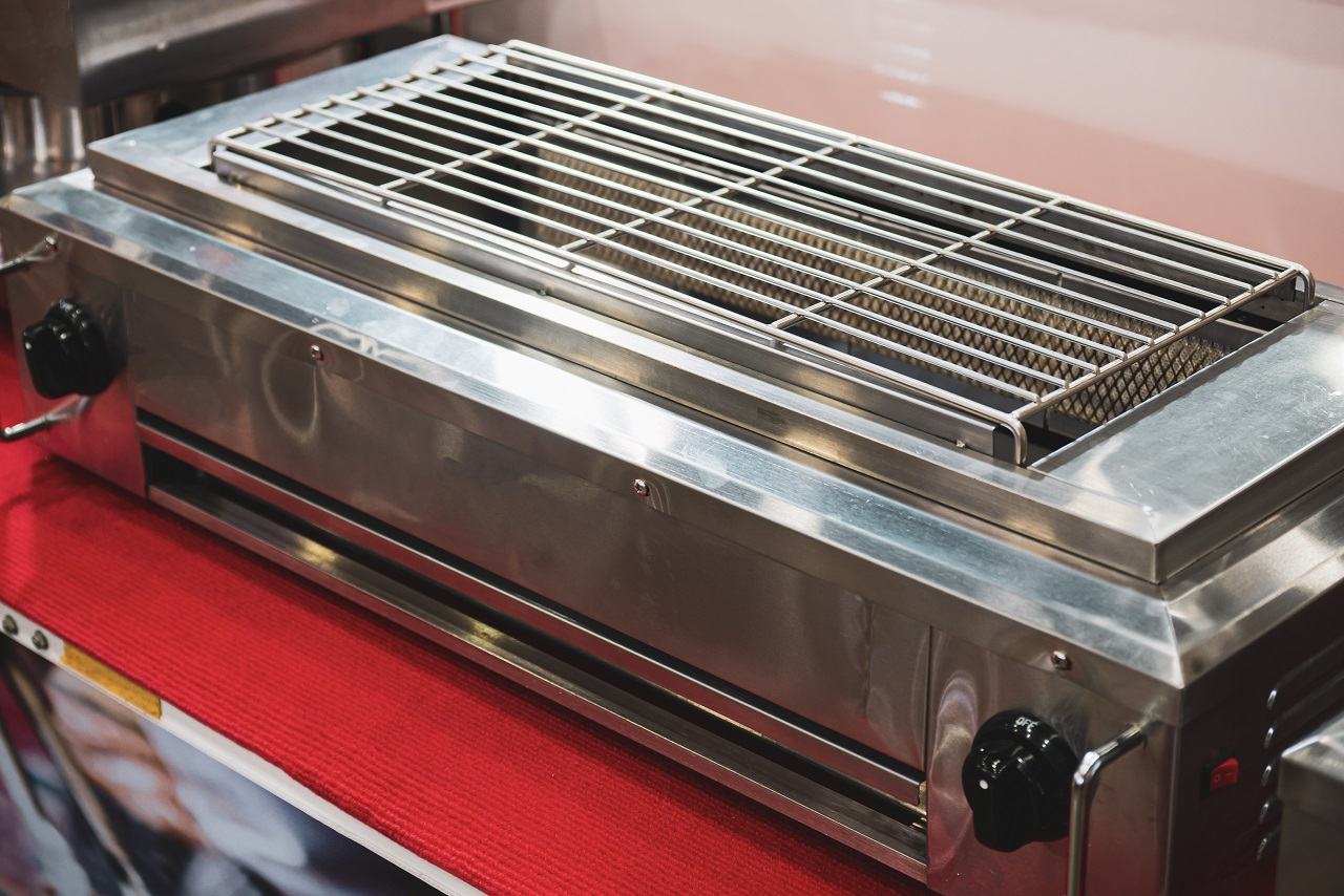 Double-headed-infrared-grill