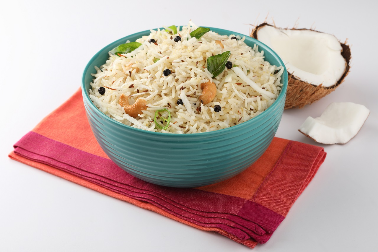 coconut-rice-A-South-Indian-meal