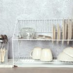 Different-tableware-and-cutlery-on-table
